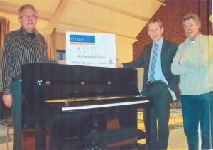 Overhandigen Piano Rabo